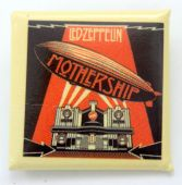 Led Zeppelin - 'Mothership' Square Badge